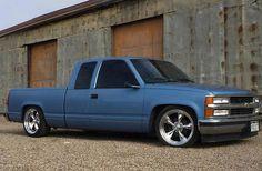 Chevy Trucks Lowered, Custom Chevy Trucks, Chevy Pickup Trucks, Classic Chevy Trucks, Gm Trucks, Chevy Pickups, Chevrolet Trucks, Cool Trucks, 1988 Chevy Silverado
