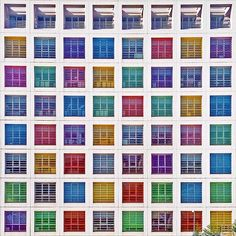 Instanbul Colorful Architecture by Yener Torun on everythingwithatwist
