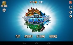 MotoHeroz by Ubisoft: Launch screen. Quite a challenging platform racing game.