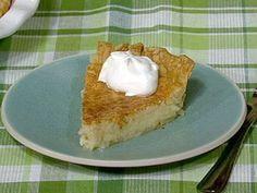 PHOTO: Carla Hall's buttermilk pie is shown here.