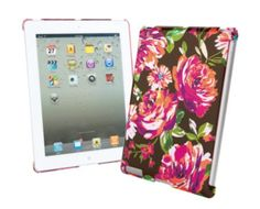 Snap On Case for iPad | Vera Bradley indigo pop, product, bradley pack, ipad case, snapon case, list, vera bradley, christma, thing