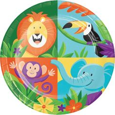 Check out the deal on Jungle Safari 7-inch Plates at Party at Lewis. #junglepartyideas #jungleparties #junglepartythemes #junglebirthdays #junglesafariparty #junglethemepartyideas #junglethemebirthdayparty #junglethemeparties #safarijungleparty #junglebirthdaypartyideas #junglebirthdayparties #junglepartydecorations #junglebirthdaytheme #safariparty #junglesafaribirthdayparty #junglekidsparty #partyjungletheme #junglethemebirthday #babyshower  #1stbirthday #props #themepartyideas