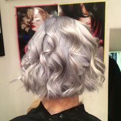 #GreyHairDontCare A bit like #London weather today!  #grannytrend #olaplex #iamgoldwell #grannyhair #hair #haircolour #hairstyles #KayandKompany #MuswellHill #N10 #Salon