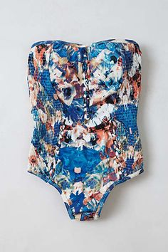 6 Shore Road Marina one piece- Anthropologie