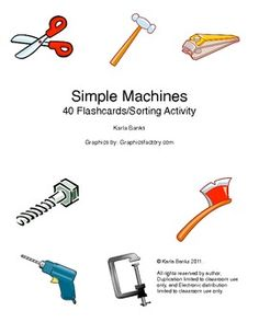 Free Simple Machines Flashcards