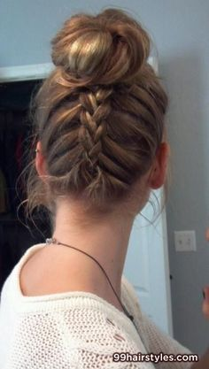 beautiful braided hairstyle - 99 Hairstyles Ideas