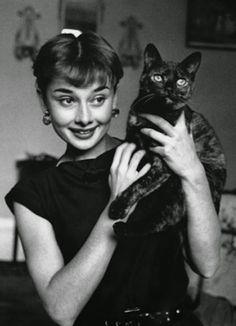 Audrey Hepburn, 50s: Walter Carone
