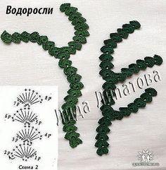 Irish crochet &: Irish crochet by ARSI/ coral or seaweed?