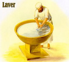 Exodus 38:8 And he made the laver of brass, and the foot of it of brass, of the looking glasses of the women assembling, which assembled at the door of the tabernacle of the congregation.