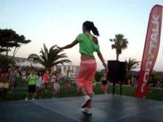 Eva Pouraveli ( sexy movimiento. fitness dance)