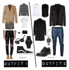 """""""Casual \ Elegant"""" by daderaz on Polyvore featuring Givenchy, Yves Saint Laurent, Dolce&Gabbana, Dsquared2, AMIRI, Valentino, Vans, D'Amico, Tobias Wistisen e Gucci"""