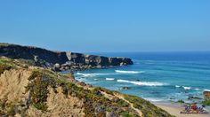 Malhão beach, Alentejo coastline - miles of quiet sunny sandy beaches #Portugal