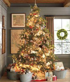Pottery Barn Christmas On Pinterest Pottery Barn