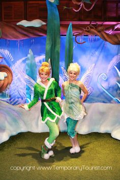 Tinkerbell and Periwinkle - The Characters of Walt Disney World – Photos — Temporary Tourist