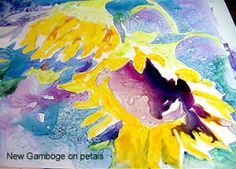 7e7d8e238c31 Tutorial on how to do a watercolor painting on yupo paper. Watercolour  Tutorials