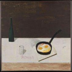 Ivan Lubennikov   scrambled eggs, 1990Oil on canvas, 100 × 100 cm