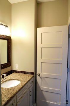 Love the 5 panel door!