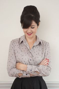 The Ultimate Shirt is a classic fitted shirt, practical and stylish in one fell swoop! On this course you will learn the fundamentals of shirt construction, including how to sew a collar and collar stand, cuffs and buttonholes.