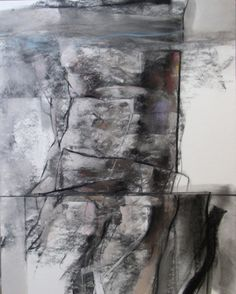 """Bruce Samuelson, """"7-1"""", pastel and charcoal on ragboard"""
