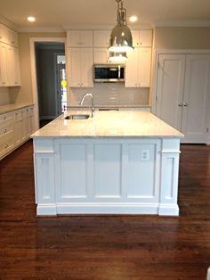 Kitchen Island. Unlimited Home Services, LLC. Bethesda, MD