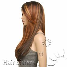 model model synthetic hair deep invisible part lace wig perla - www.hairsisters.com
