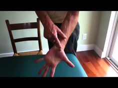 Stretches for Thumb Arthritis Brian Dorfman demonstration of 4 simple stretches used to alleviate and prevent thumb arthritis as well as other aches and pains in the hand and fingers. Arthritis Hands, Arthritis Exercises, Rheumatoid Arthritis Symptoms, Arthritis Remedies, Fibromyalgia, Massage Tips, Self Massage, Massage Benefits, Occupational Therapy