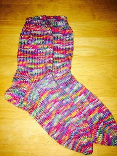Ravelry: Kellydoolan's Birthday socks sport weight