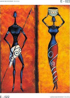 fox tribe coloring and imagery Arte Tribal, Tribal Art, Kunst Der Aborigines, African Art Paintings, African Theme, Africa Art, Black Artwork, African American Art, Aboriginal Art