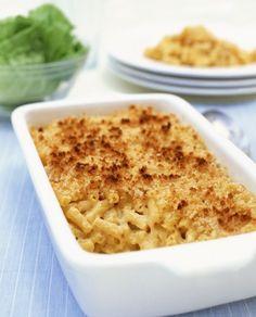 Gratin de macaroni au fromage, la version européenne du Mac and Cheese !