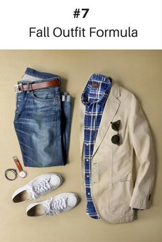 Blazer: Denim: RRL Shirt: Bracelet: Shoes: Jack Purcell Glasses: Belt: by