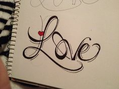 Easy drawings of love drawings on library love words drawings of love Love Drawings Tumblr, Easy Love Drawings, Word Drawings, Cute Drawings, Tattoo Drawings, Sketches Of Love, Amazing Drawings, Beautiful Drawings, Tattoo Painting