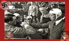 Mr. Adolf Hitler saluting wounded soldiers, cheered by his people.      Herr Adolf Hitler grüßen verwundete Soldaten, von seinem Volk jubelte. Third, History, World, People, Pictures, Soldiers, Life, Historia, The World