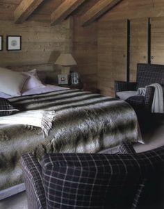 Chalet bedroom /Martine Haddouche/