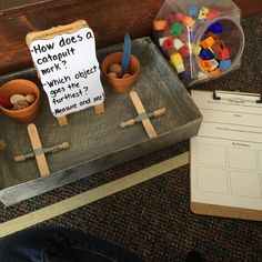 Physics in Kindergarten? This is why play is so important in Early Childhood Education! How else could children begin to have a. Play Based Learning, Project Based Learning, Learning Centers, Early Learning, Mobile Learning, Kids Learning, Science Inquiry, Teaching Science, Science For Kids