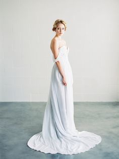Delicate Wedding Dresses from Saint Isabel