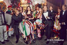 Dolce&Gabbana ad campaign 2017 Spring/Summer