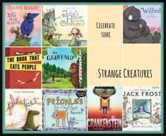 Picture book ideas for monsters/creatures
