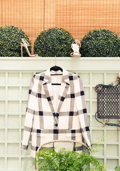 Shoes, Prada; Jacket, Stella McCartney