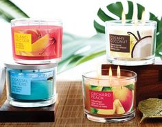 Imagine mom closing her eyes and escaping to the tropics! Imagine the scent of coconut, peach, mango, a seaside breeze… no matter which tropical scent is her favourite, she can enjoy them all right at home thanks to our Summer Home Fragrance Collection. Each of these scents is featured in a big 3-wick candle that looks beautiful and burns for hours! Mother's Day gift for only $12.99