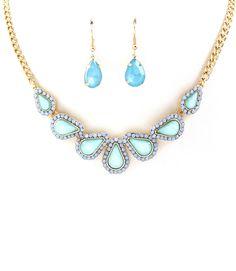 Adeline Blue Necklace