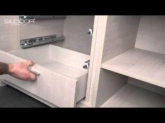 Roupeiro com portas de Correr - Sildoor - YouTube