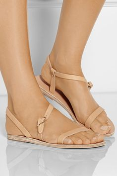 Comfy Cozy Couture: Wednesday Wish List | Net-a-porter Nude Sandals