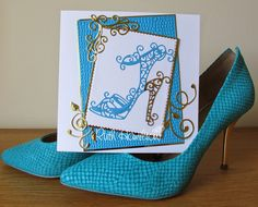 Blog tonic: Sassy Heels - a card from RUTH