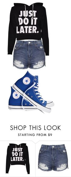 """Untitled #168"" by dubstepfreak on Polyvore featuring Topshop and Converse"