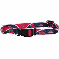 St. Louis Cardinals Baseball Sport Dog Collar