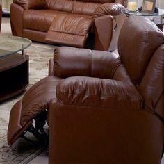 Palliser Furniture Benson Wall Hugger Recliner Upholstery: Bonded Leather - Champion Khaki, Leather Type: Bonded Leather, Type: Manual