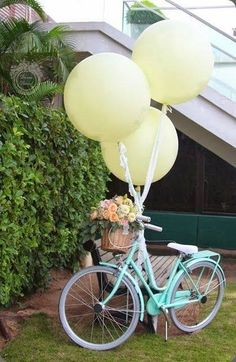 Bike with florals