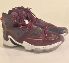 lowest price abf35 949fc Nike Lebron James XIII 13 Mulberry Purple Written In The Stars 807219-500  11.5
