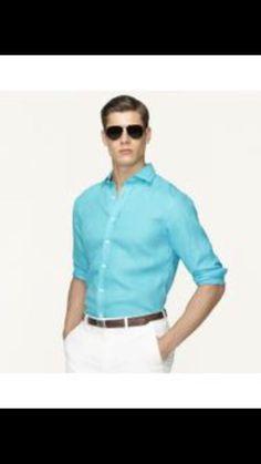 Ralph Lauren Black Label Men's Teal Button Up Shirt Size 16.5 NWT $375 #RalphLaurenCollection