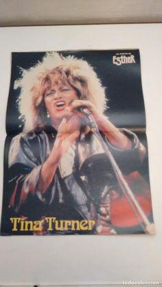 Comics: ESTHER MAGAZINE Nº 105. WITH POSTER OF TINA TURNER.  BRUGUERA 1985 - Photo 2 - 70442481